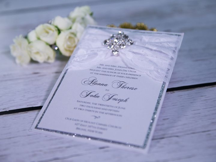 Tmx 1485620216107 Lace And Vintage 16 West Bloomfield, Michigan wedding invitation