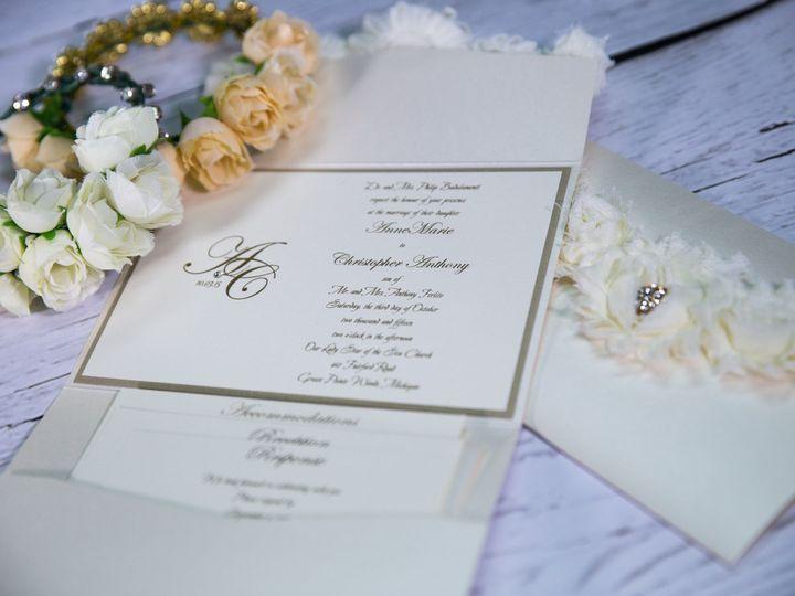 Tmx 1485620287386 Couture  Luxury 2 West Bloomfield, Michigan wedding invitation
