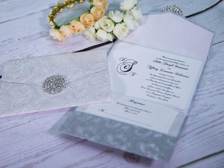 Tmx 1485620343808 Couture  Luxury 10 West Bloomfield, Michigan wedding invitation