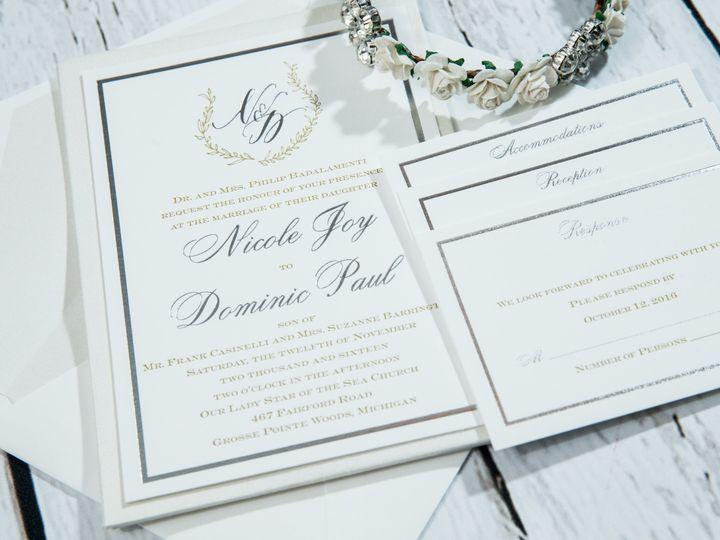 Tmx 1485620929195 Jens Invites Dec 142 West Bloomfield, Michigan wedding invitation