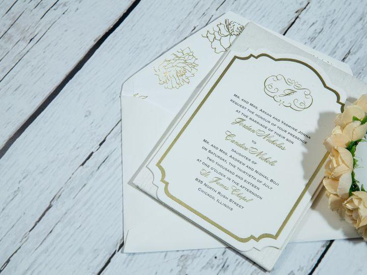 Tmx 1485620941884 Jens Invites Dec 129 West Bloomfield, Michigan wedding invitation