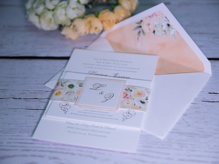 Tmx 1485621117989 Letterpress 17 West Bloomfield, Michigan wedding invitation