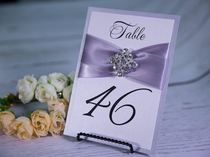 Tmx 1485621181054 Table Numbers 11 West Bloomfield, Michigan wedding invitation