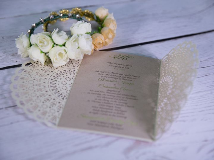 Tmx 1485829915394 Jens Invites 223 West Bloomfield, Michigan wedding invitation