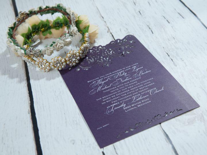 Tmx 1485829970494 Jens Invites Dec 13 West Bloomfield, Michigan wedding invitation