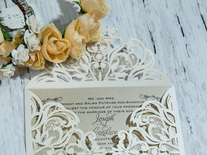 Tmx 1485830172595 Jens Invites Dec 83 West Bloomfield, Michigan wedding invitation