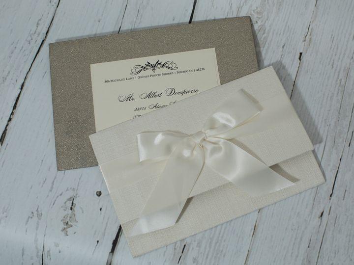 Tmx 1505403219158 Jen Invites 6 22 17 277 West Bloomfield, Michigan wedding invitation