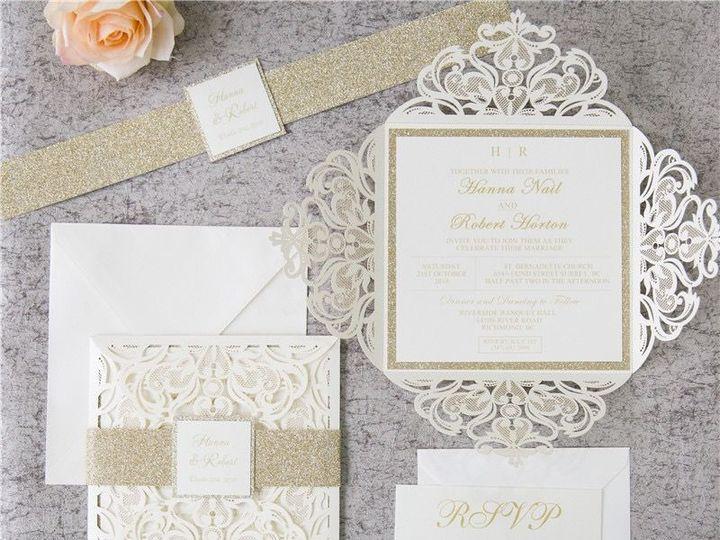 Tmx 1520609282 5d183dc6413683a0 1520609281 1f6cb2780d9ae8cf 1520609277657 5 WPL0019S West Bloomfield, Michigan wedding invitation