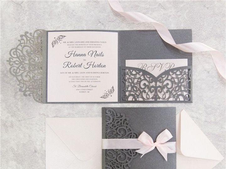 Tmx 1520609282 8b089a001afb90f5 1520609280 A3f8a06df1082057 1520609277655 2 WPFC2125S West Bloomfield, Michigan wedding invitation