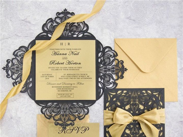 Tmx 1520609283 68a2eed1d7ebe90d 1520609282 49cf8f3c2b1c564a 1520609277659 8 WPL0068S West Bloomfield, Michigan wedding invitation