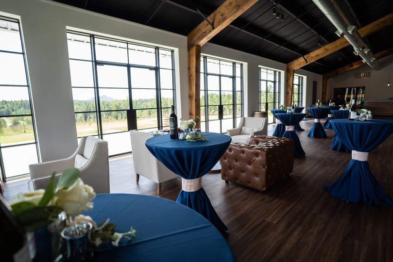 Indoor cocktail reception