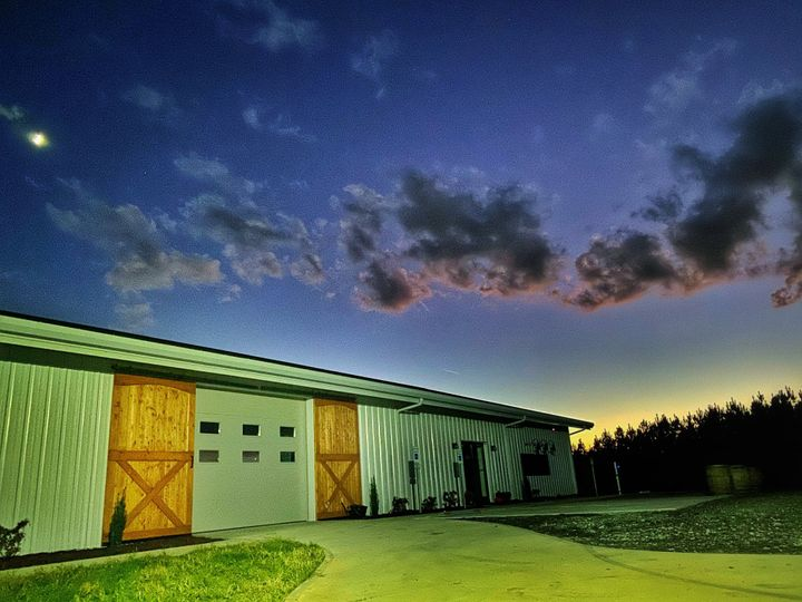 Evening at the winery