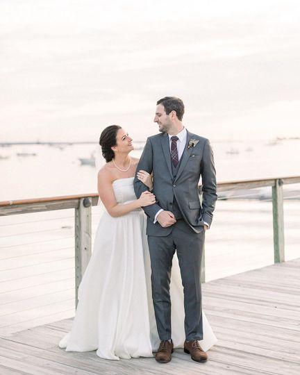 Beautiful boat club wedding CT