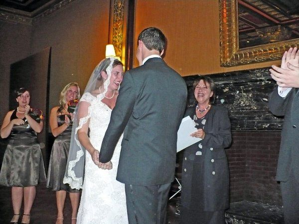 Marrying Kristin and Kevin at the sumptuous Grand Ballroom at the Prince George Hotel in NYC. Please...