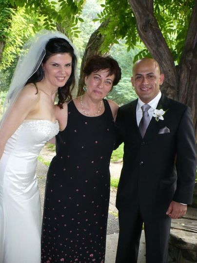 Kathy and Coco marry in front of a small group of friends from Australia and Brazil. Please see...