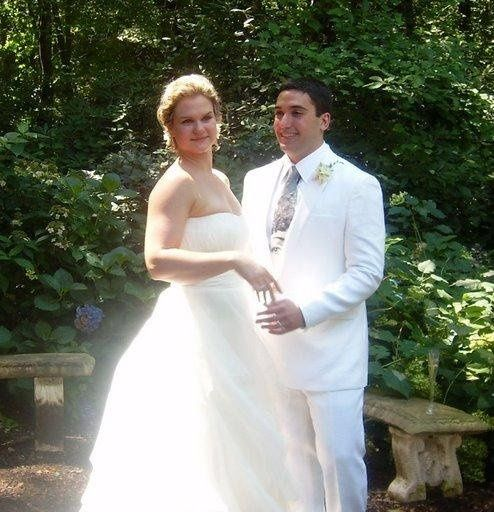 a very happy couple after being married by Shauna Kanter