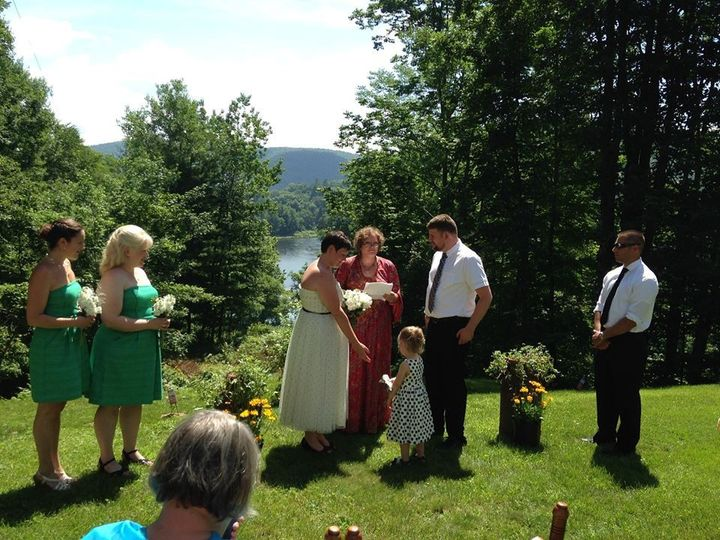 Tmx 1444089085453 Erin And Josh Endicott wedding officiant
