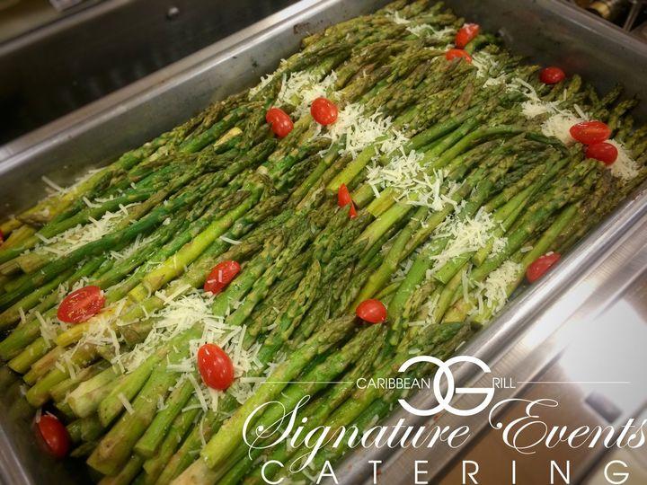 Roasted Garlic & Parmesan Asparagus.