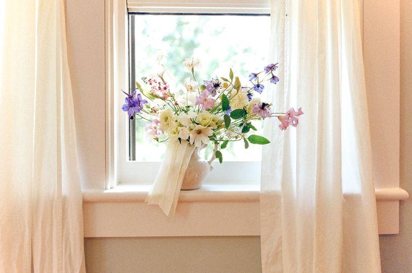Local flowers wedding bouquet