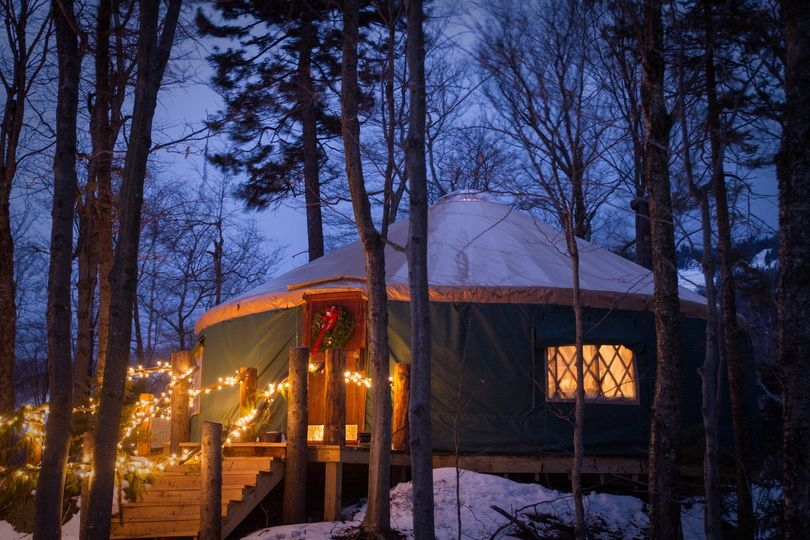 killington resort yurt dining