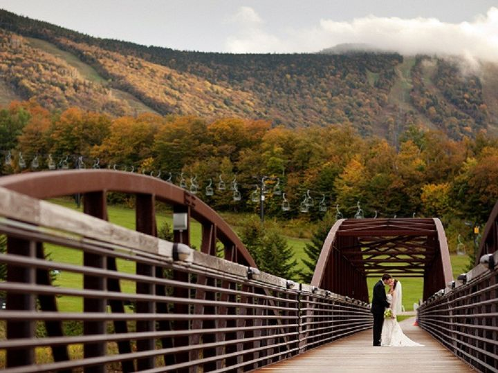 Tmx 1395756812250 Kissing On The Bridge Edi Killington wedding venue