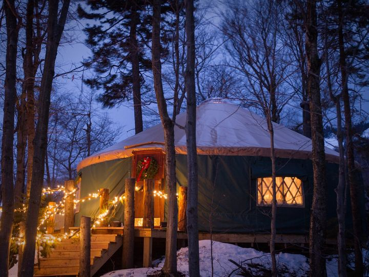 Tmx 1423145428224 Killington Resort Yurt Dining Killington wedding venue
