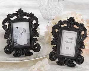 Tmx 1298417796055 25067BKBlackBaroqueFrameM San Francisco wedding favor