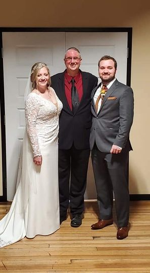 Meet the bride and groom