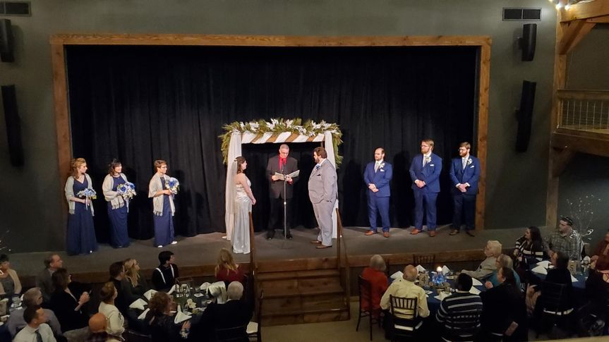 A personalized ceremony