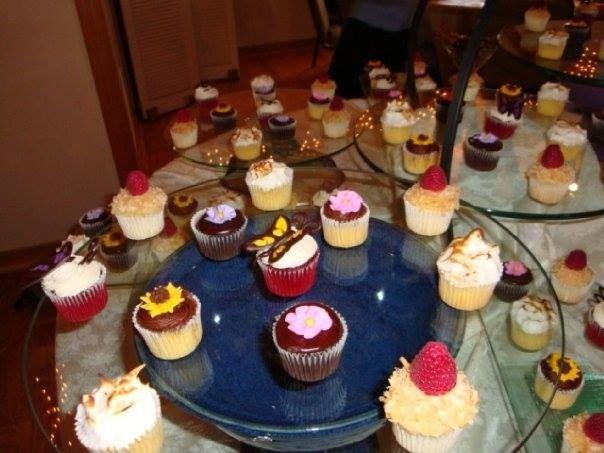 Wedding dessert area