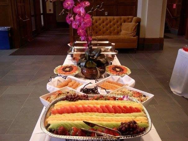 Tmx 1399482481795 Buffet Lin Manchester wedding catering