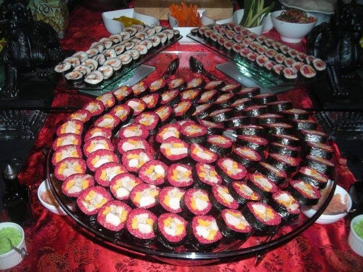 Tmx 1399482570063 Pink Sush Manchester wedding catering