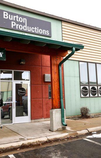 Burton studio storefront