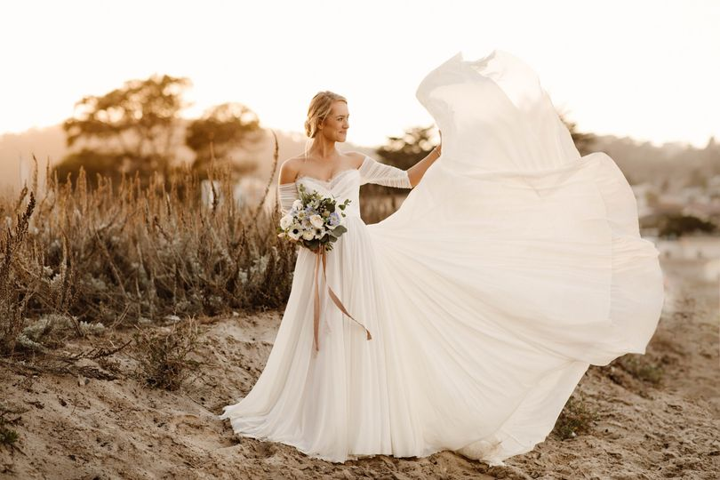 Micro Wedding Bridal Gown