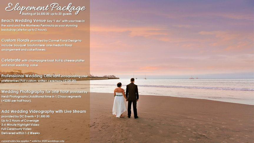 monterey beach house elopement package 51 521715 159052717564515