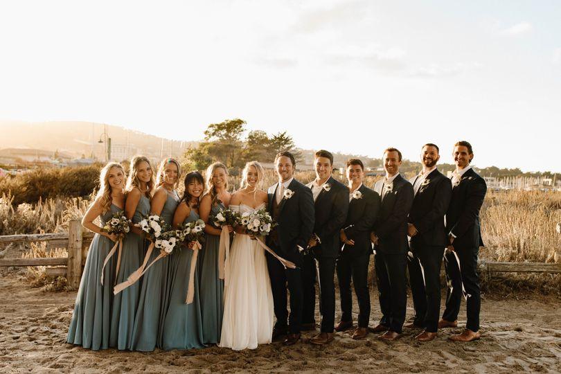 Micro Wedding Bridal Party