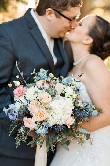 rustic romantic wedding photos