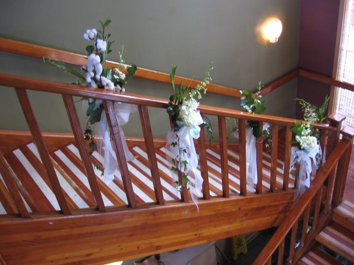 Staircase with decors