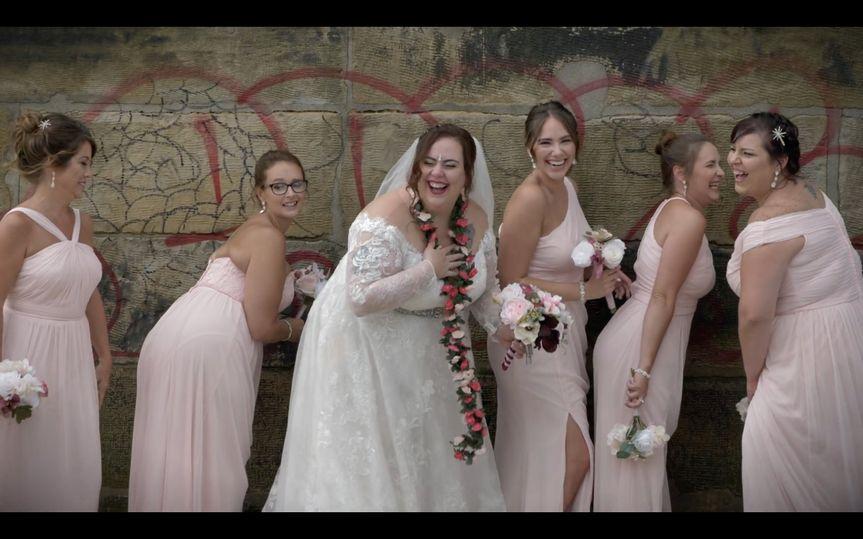 Caia & her bridesmaids