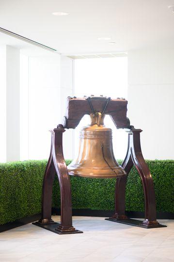 Bell in hallway