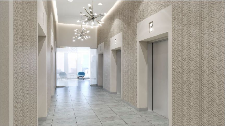 The white hallway