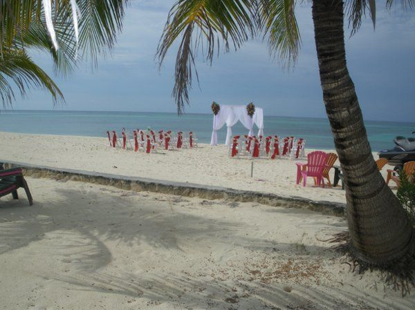 Beach Wedding in The Bahamas