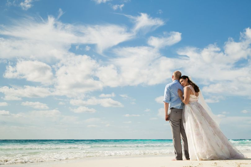 Romantic Wedding in Cancun