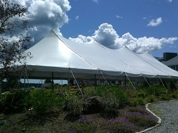 Big tent setup