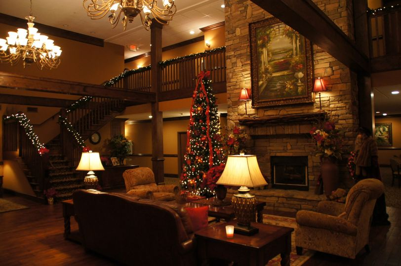 The Mountain Lodge at Christmas