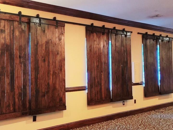 Tmx 2020 Barn Doors In Ballroom 51 526715 159664423397770 Flat Rock, NC wedding venue