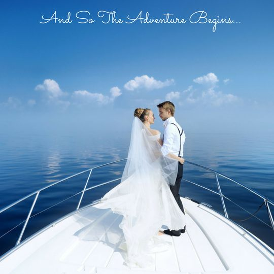 Get married at sea!