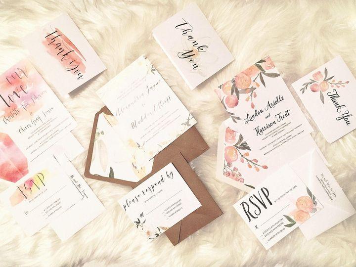 Tmx 1490996483946 1599497213714423529405281104393146766152082o Lumberton, North Carolina wedding invitation