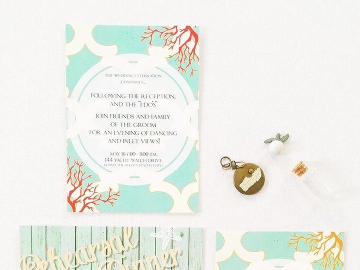 Tmx 1490996490030 1582336613618477172333252207523418281082500n Lumberton, North Carolina wedding invitation