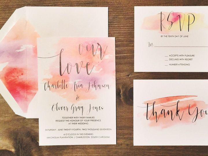 Tmx 1491028491580 Img4062 Lumberton, North Carolina wedding invitation
